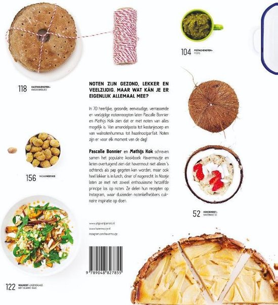 Nootje. 70 notenrecepten van amandelpasta tot pistacheijs