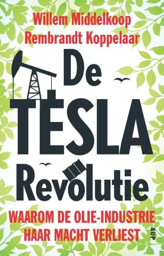 Boek cover De TESLA revolutie van Willem Middelkoop (Paperback)