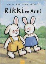 Kinderboeken Clavis Prentenboek - Rikki en Anni. 4+