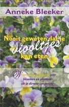 Nooit geweten 2 -   Nooit geweten dat je viooltjes kan eten