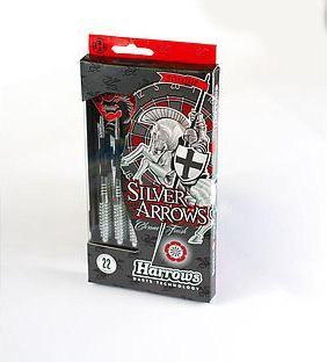 Harrows Steeltip Eric Bristow Silver Arrows 26 GR