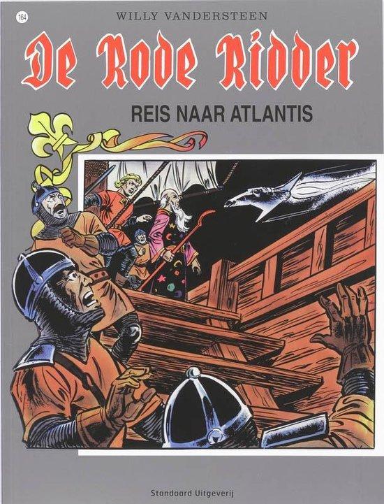 Cover van het boek 'Rode Ridder 164 Reis Atlanti'
