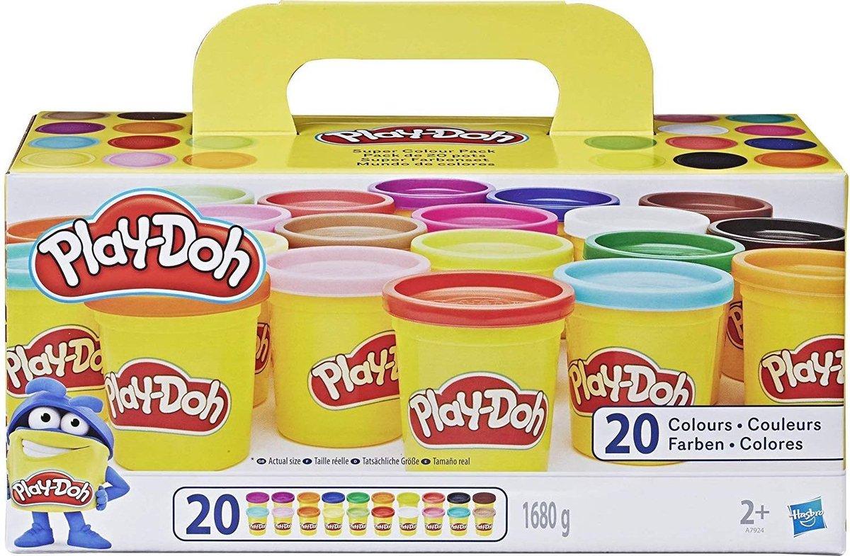 Play Doh Super Color Pack Klei - 20 Potjes