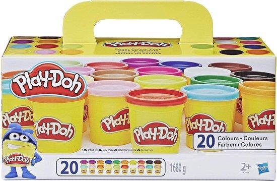 Play-Doh Super Color Pack Klei - 20 Potjes