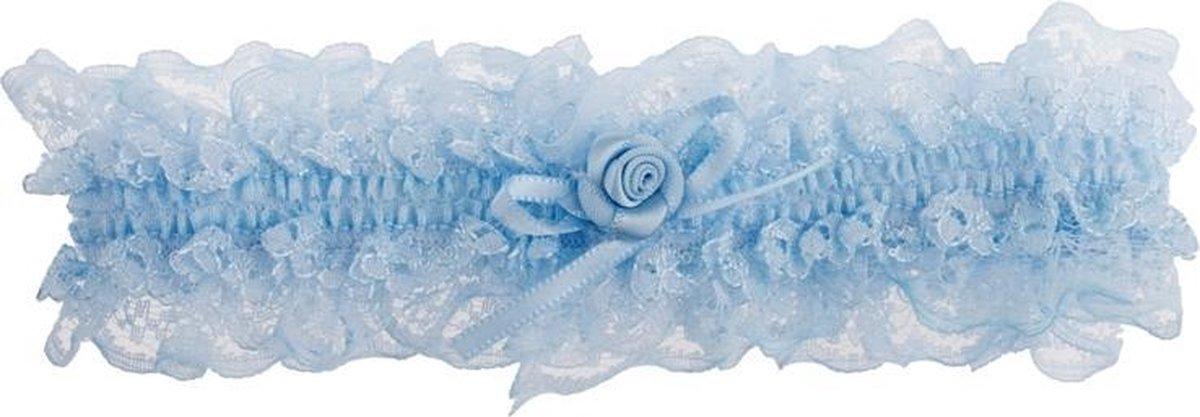 Kousenband lichtblauw