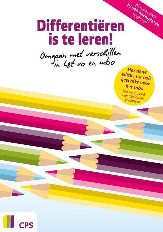 Boek cover Differentiëren is te leren! van Meike Berben (Paperback)