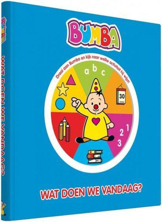 Boek cover Bumba  -   Wat doen we vandaag? van Jan Maillard (Hardcover)