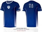 Playstation - League Symbol Fade Men T-Shirt - Blauw - Maat XL
