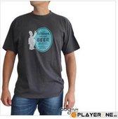 SIMPSONS - T-Shirt Homme BEER - Dark Grey (M)