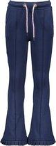 B-Nosy Meisjes broeken B-Nosy Girls flaired pants space blue 104