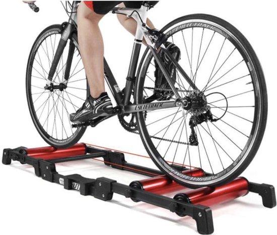 Dexters® Fietstrainer - Fiets Roller - Rollerbank - Trainer Stand - Indoor Fietsen - Training Racefiets Mountainbike - Platform voor 24 - 29 Inch Fietsen - Workout