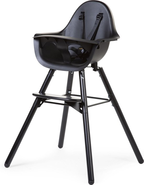 Product: Evolu 2 Kinderstoel - Verstelbaar In Hoogte (50-75 Cm/*90 Cm) - Zwart, van het merk Childhome