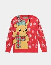 Pokémon - Knitted Christmas Jumper - S - Multicolour