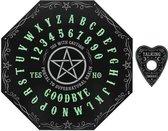 Attitude Holland Ouija bord Glow in the Dark Octagon Zwart