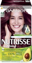 Bol.com-Garnier Nutrisse Crème 46 - Diep Rood Middenbruin - Haarverf-aanbieding