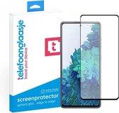 Samsung Galaxy S20 FE screenprotector Glas - Edge to Edge - Screenprotector Samsung Galaxy S20FE