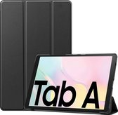 Samsung Galaxy Tab A7 2020 Hoes Luxe Hoesje Book Case Cover - Zwart