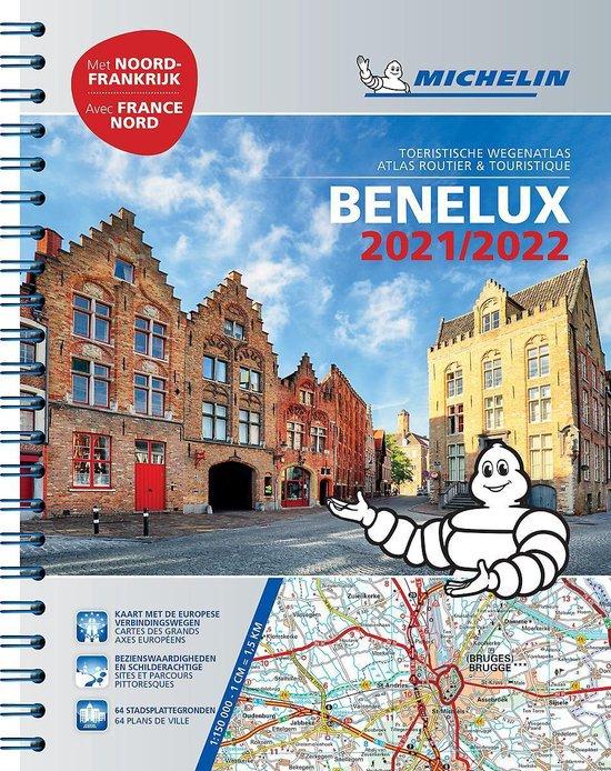 Boek cover ATLAS MICHELIN BENELUX 2021 van  (Paperback)