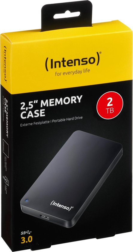 Intenso Memory Case  - Externe harde schijf - 2 TB