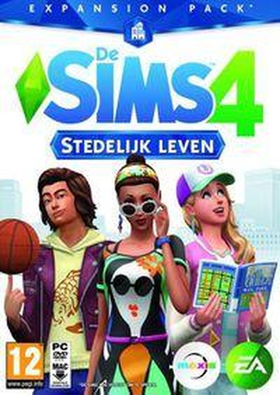 De Sims 4: Stedelijk Leven - Expansion Pack - Windows + MAC - Code in box