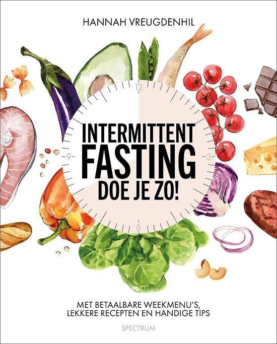 Boek cover Intermittent fasting - doe je zo van Hannah Vreugdenhil (Paperback)
