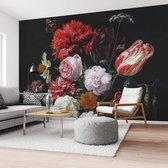 Stilleven met bloemen Jan Davidsz de Heem - Boeket - Oude Meester - Rijksmuseum - Fotobehang Vlies 384 x 260 cm