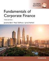 Boek cover Fundamentals of Corporate Finance, Global Edition van Jonathan Berk