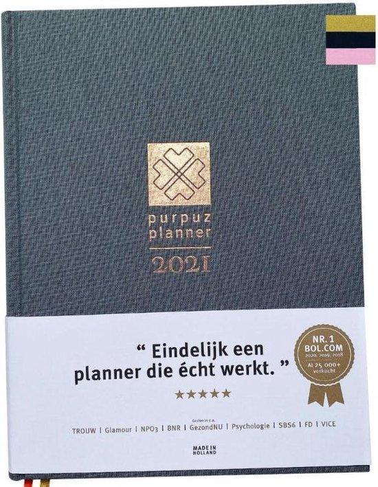 Afbeelding van Purpuz Planner 2021 - Agenda 2021 & Lifecoach in één