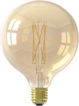 Calex Dimbare LED Lamp - Globe - Goldline - E27 - Large