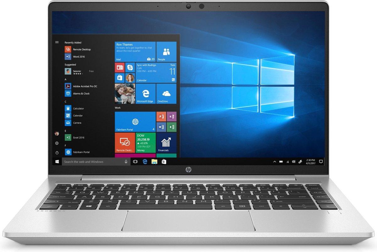 HP ProBook 440 G8 Notebook Aluminium, Zilver 35,6 cm (14) 1920 x 1080 Pixels Intel Core i5-11xxx 8 GB DDR4-SDRAM 256 GB SSD Wi-Fi 6 (802.11ax) Windows 10 Pro