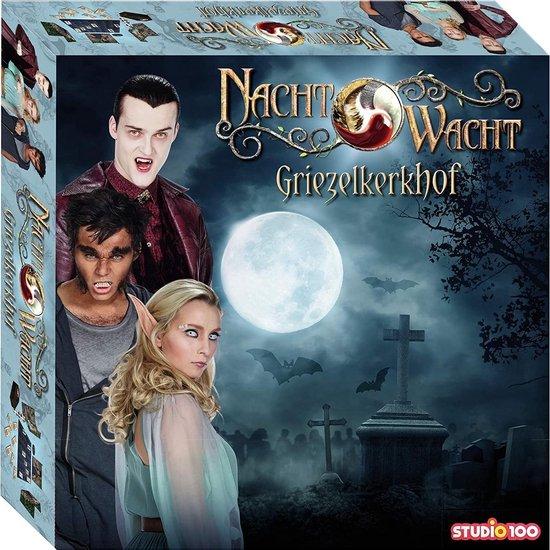 Afbeelding van het spel Studio 100 Nachtwacht Spel - Het Griezelkerkhof