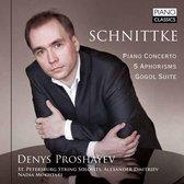 Schnittke: Piano Concerto - 5 Aphorisms - Gogol Su