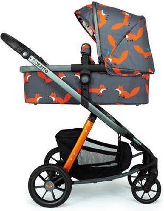 Cosatto Giggle Quad Kinderwagen Charcoal Mister Fox