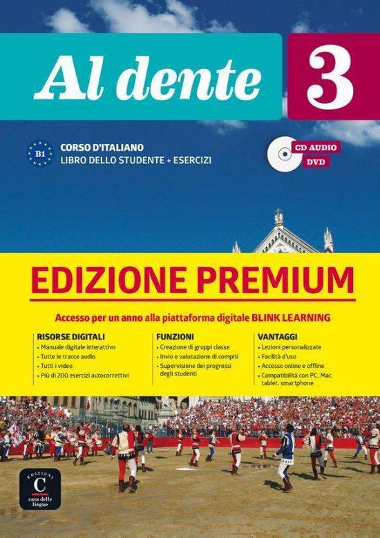 Al Dente 3 libro dello studente + esercizi Ed Premium
