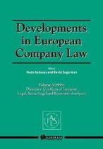 Developments in European Company Law