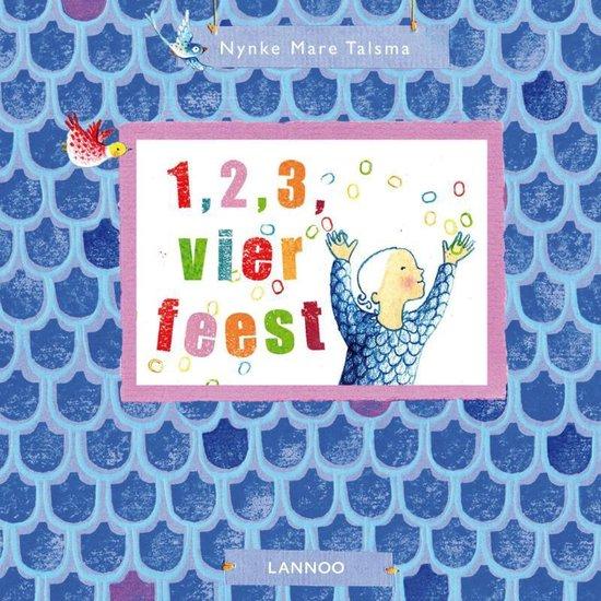 Cover van het boek '1 2 3 vier feest' van N. Talsma