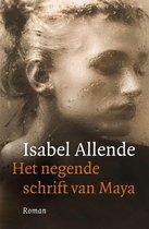 Boek cover Het negende schrift van Maya van Isabel Allende (Onbekend)