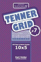 Sudoku Tenner Grid - 200 Easy to Master Puzzles 10x5 (Volume 7)
