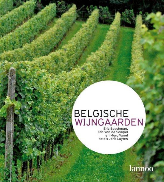Cover van het boek 'Belgische Wijngaarden'