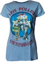 Breaking Bad Los Pollos Hermanos Dames T-shirt XXL