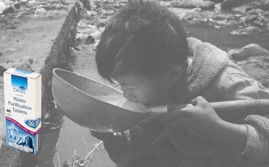 Highlander Waterzuiveringstabletten Oasis - 50 tabletten