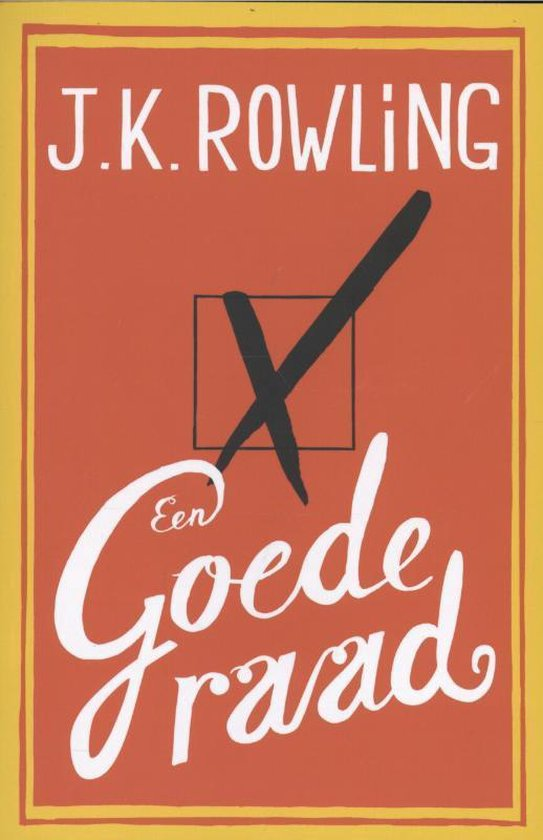 Een goede raad - J.K. Rowling | Readingchampions.org.uk