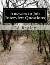 Answers to Job Interview Questions