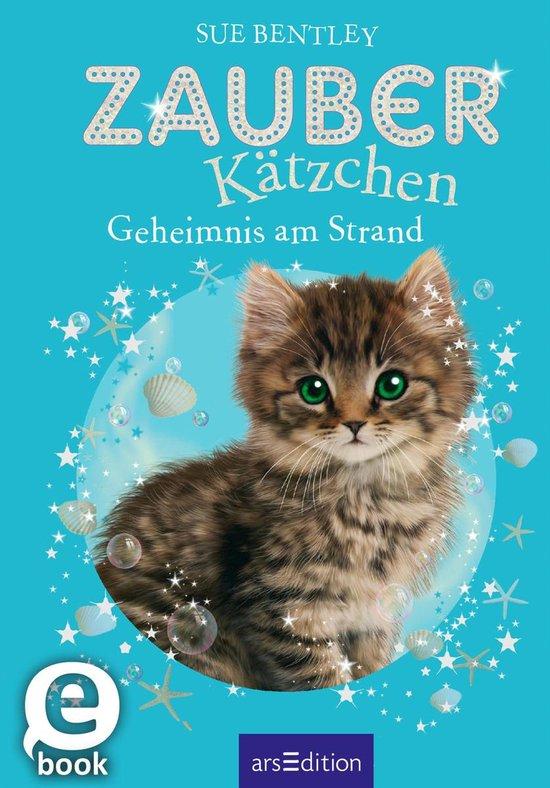 Boek cover Zauberkätzchen - Geheimnis am Strand van Sue Bentley
