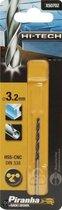 Piranha HI-TECH metaalboor 3,2mm X50702