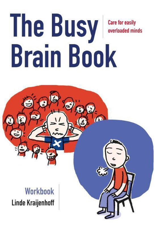 Boek cover The Busy Brain Book van Linde Kraijenhoff (Paperback)