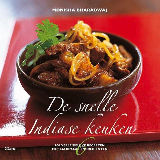 Cover van het boek 'De snelle Indiase keuken'