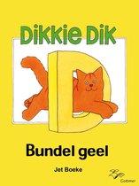 Boek cover Dikkie Dik - Bundel geel van Jet Boeke (Onbekend)