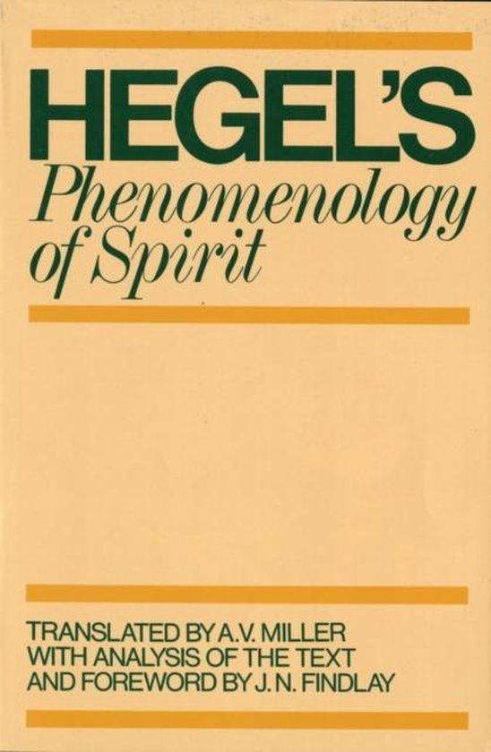 Boek cover Phenomenology of Spirit van G. W. F. Hegel (Paperback)
