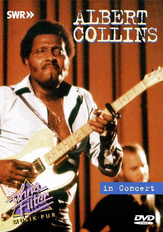 Cover van de film 'Albert Collins - In Concert'